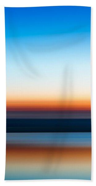 Sunset At Ottawa Lake Beach Towel
