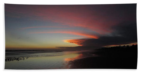 Sunset Las Lajas Beach Towel
