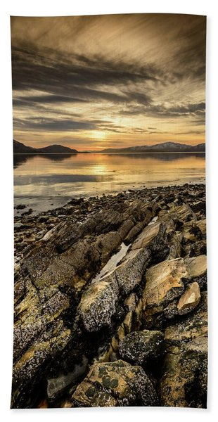 Sunset, Loch Lochy Beach Towel