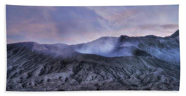 sunset Mount Bromo - Java Beach Towel