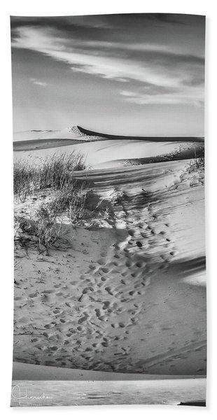 Sunset On The Dunes Beach Towel