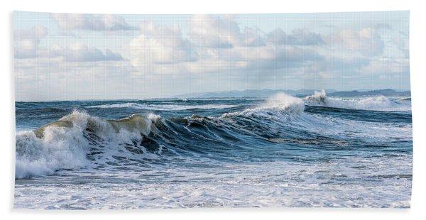 Surf And Sky Beach Towel