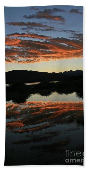 Surreal Sunrise Beach Sheet