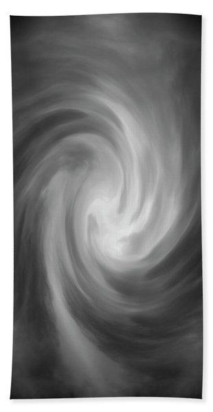 Swirl Wave Iv Beach Towel