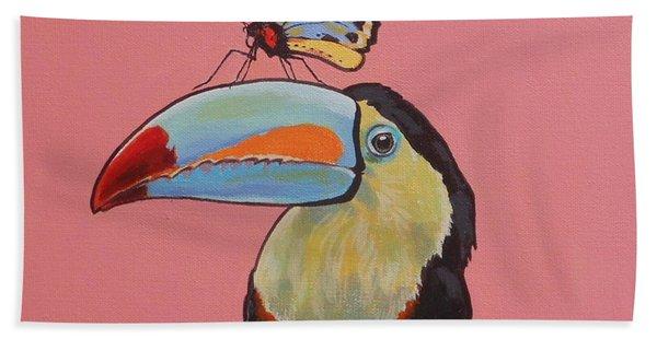 Talula The Toucan Beach Towel
