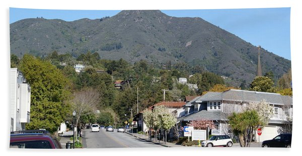 Tamalpais From Mill Valley Beach Towel