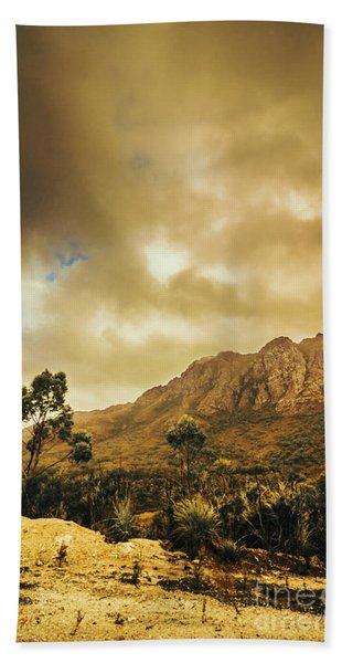 Tasmania Mountain Marvels Beach Towel