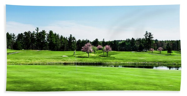 The 18th At Townsend Ridge Beach Towel