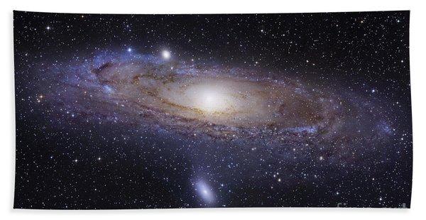 The Andromeda Galaxy Beach Towel