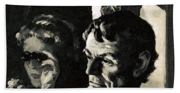 The Assassination Of Abraham Lincoln Beach Towel