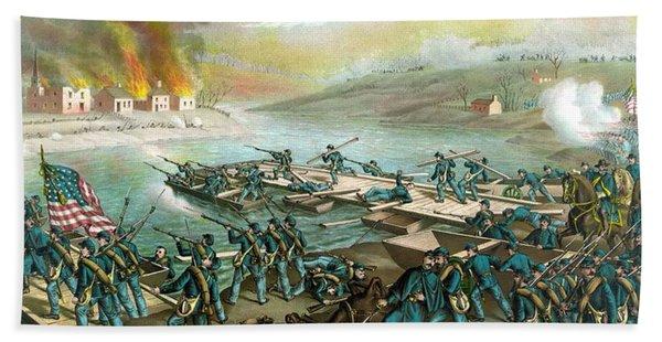The Battle Of Fredericksburg Beach Towel