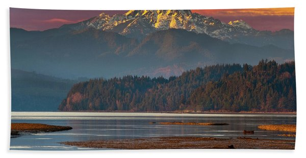 The Brothers From Hood Canal Beach Towel