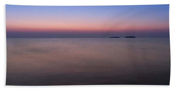 Dawn At The Mediterranean Sea Beach Towel