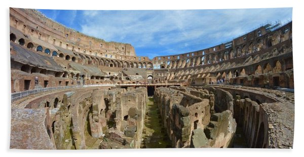The Colosseum Beach Towel