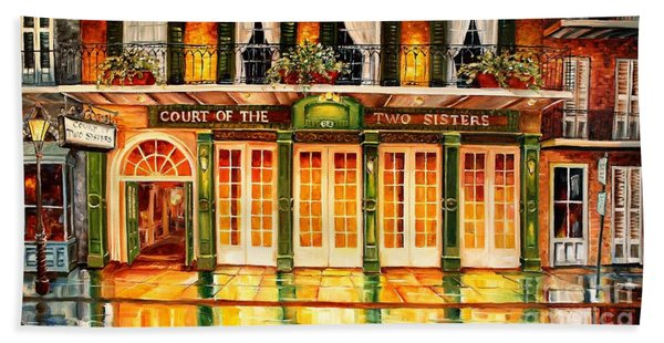 The Court Of Two Sisters On Royal Beach Towel