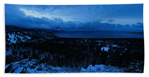 Beach Towel featuring the photograph The Dawn Of Winter by Sean Sarsfield