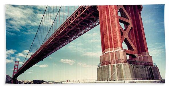 The Golden Gate Beach Towel