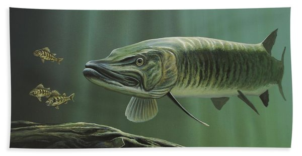 The Hunter - Musky Beach Towel