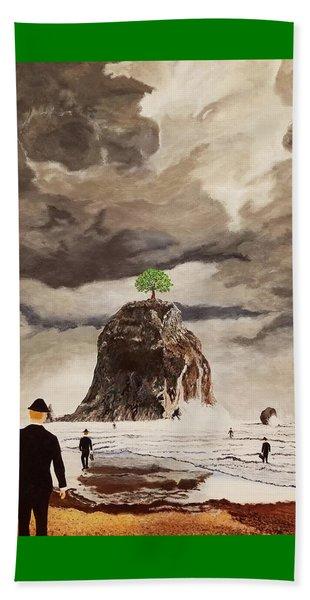 The Last Tree Beach Towel