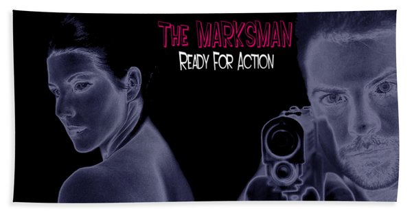 The Marksman - Ready For Action Beach Sheet