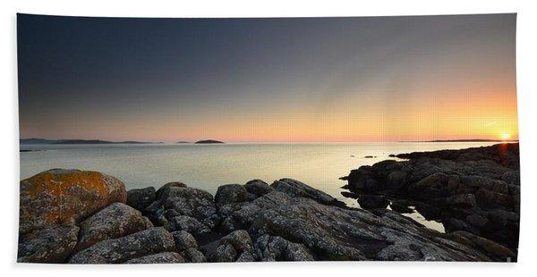 The Midnight Sun Beach Towel