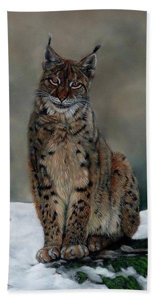 The Missing Lynx Beach Towel