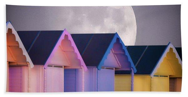 The Moons Glow Beach Towel