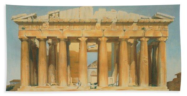 The Parthenon Beach Towel