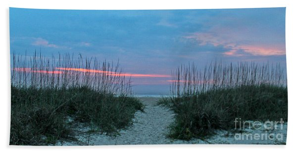 The Path Beach Towel