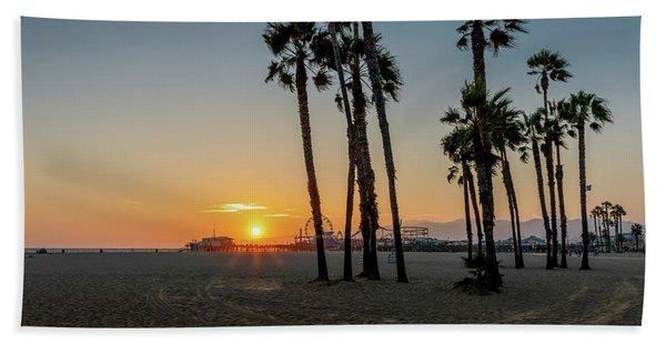 The Pier At Sunset Beach Sheet
