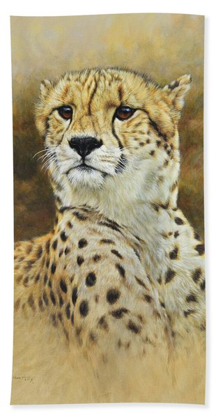 The Prince - Cheetah Beach Towel