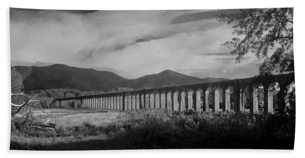 The Roman Aqueducts Beach Towel