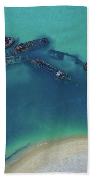 The Wrecks Beach Towel