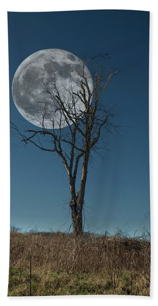 This Tree Holds The Moon Beach Towel