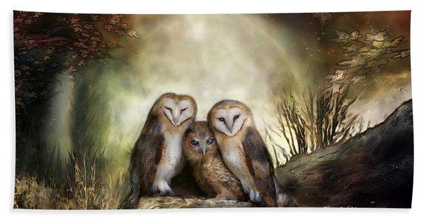 Three Owl Moon Beach Sheet