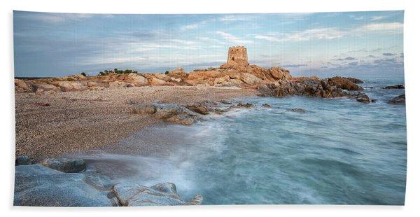 Torre Di Bari Beach Towel