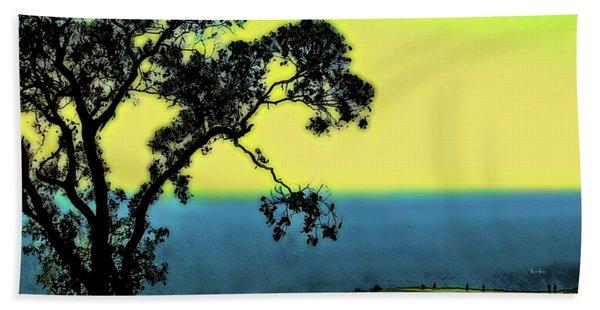 Torrey Pines Golf Course Beach Towel