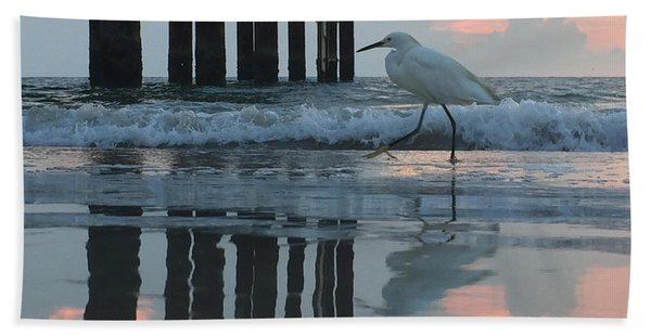 Tranquil Reflections Beach Towel