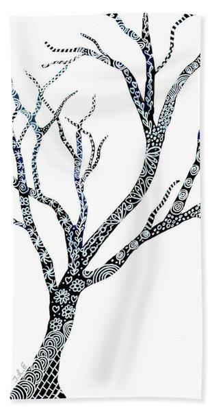Tree Of Strength Beach Towel
