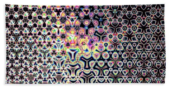Beach Towel featuring the digital art Trimandalam 1 by Robert Thalmeier