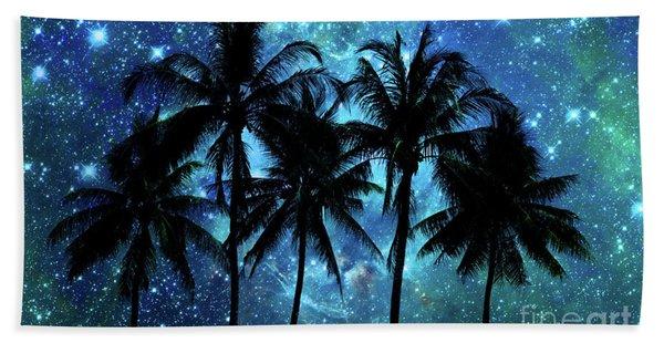 Tropical Night In Indonesia Beach Towel