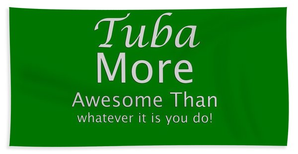 Tubas More Awesome Than You 5562.02 Beach Sheet