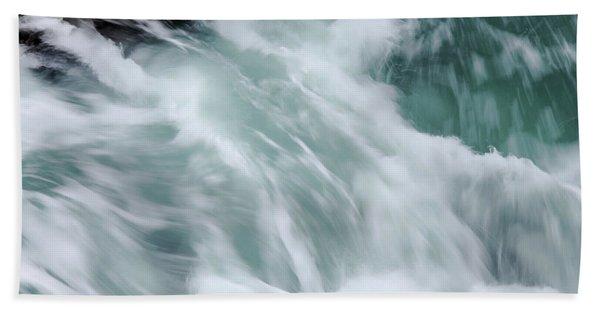 Turbulent Seas Beach Towel