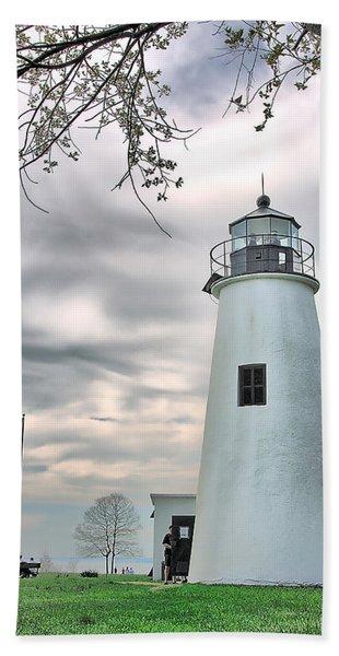 Turkey Point Lighthouse Beach Towel