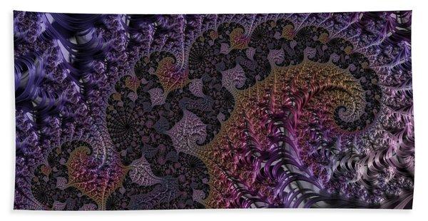 Ultra Leaf Spiral Beach Towel