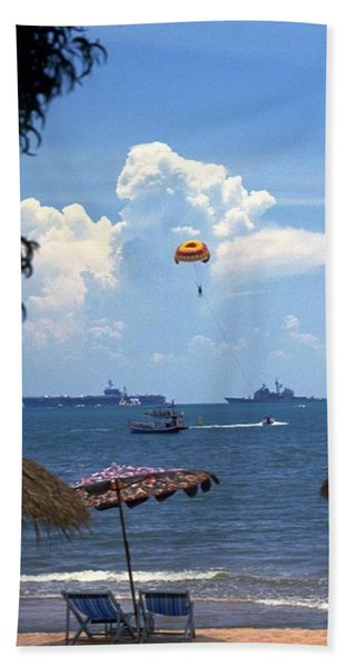Photograph - Us Navy Off Pattaya by Travel Pics