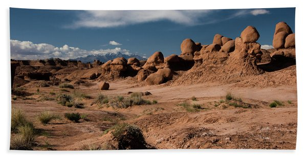 Valley Of The Goblins Beach Towel
