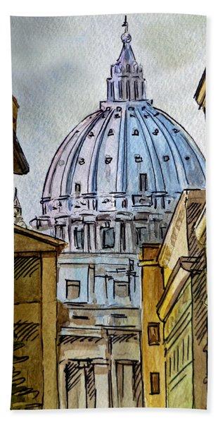 Vatican City Beach Sheet