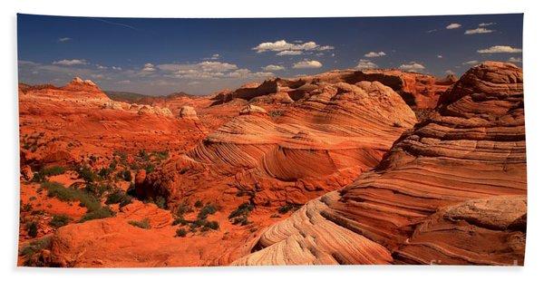 Vermilion Cliffs Rugged Landscape Beach Towel