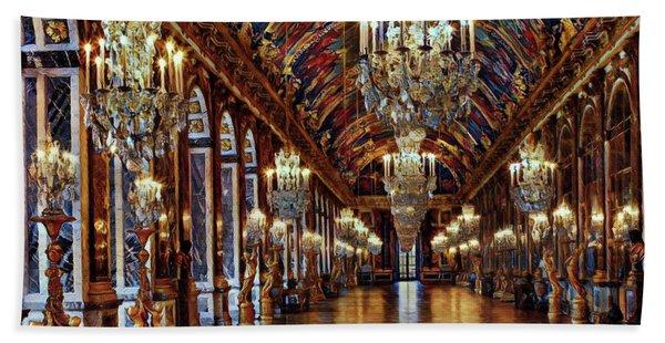 Versailles Hall Of Mirrors Beach Towel